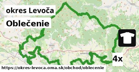 Oblečenie, okres Levoča