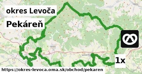 Pekáreň, okres Levoča