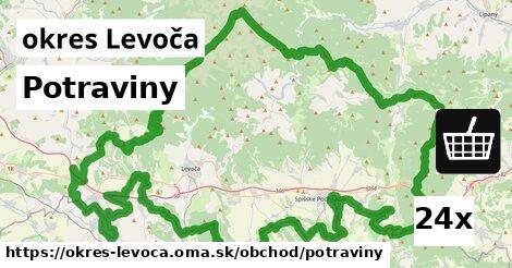 Potraviny, okres Levoča