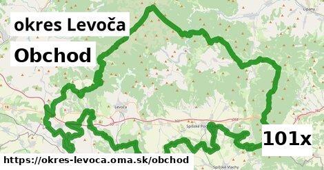 obchod v okres Levoča