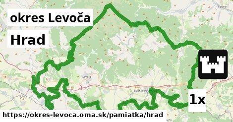 Hrad, okres Levoča