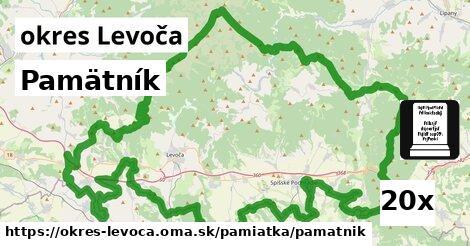 Pamätník, okres Levoča
