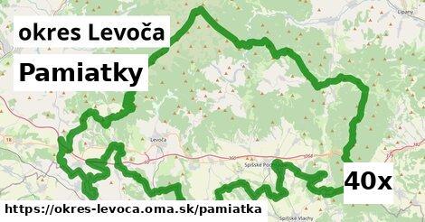 pamiatky v okres Levoča