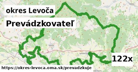 prevádzkovateľ v okres Levoča