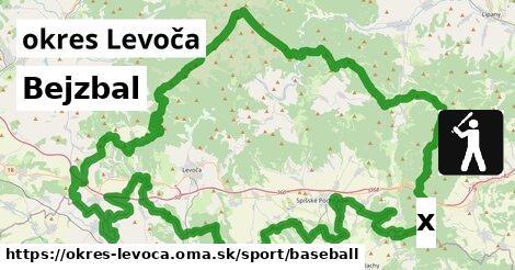 Bejzbal, okres Levoča