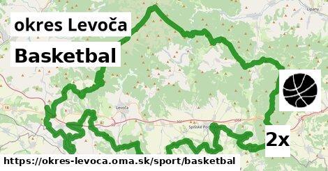 Basketbal, okres Levoča