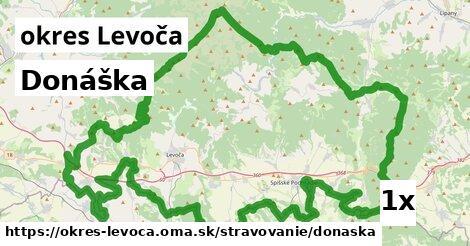 Donáška, okres Levoča