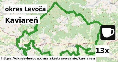 Kaviareň, okres Levoča