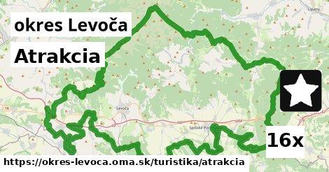 atrakcia v okres Levoča