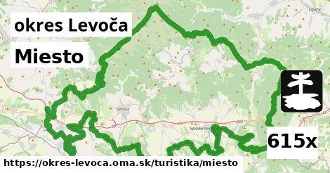 miesto v okres Levoča
