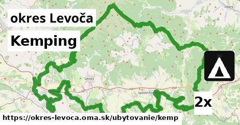 Kemping, okres Levoča