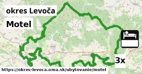 ilustračný obrázok k Motel, okres Levoča