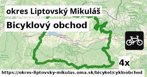 ilustračný obrázok k Bicyklový obchod, okres Liptovský Mikuláš