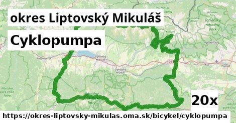 ilustračný obrázok k Cyklopumpa, okres Liptovský Mikuláš