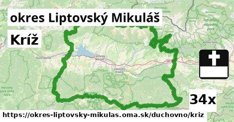 ilustračný obrázok k Kríž, okres Liptovský Mikuláš