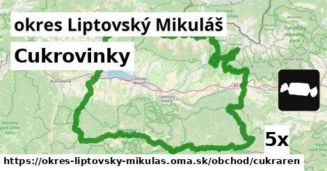 ilustračný obrázok k Cukrovinky, okres Liptovský Mikuláš