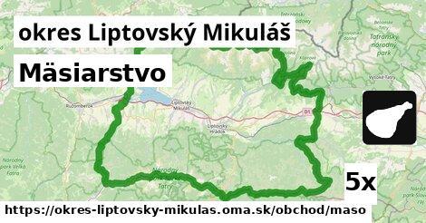 ilustračný obrázok k Mäsiarstvo, okres Liptovský Mikuláš