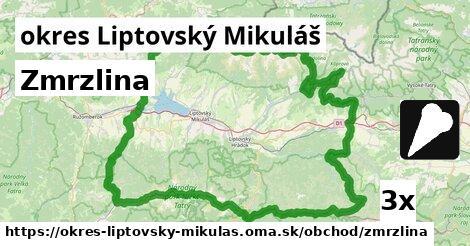 ilustračný obrázok k Zmrzlina, okres Liptovský Mikuláš