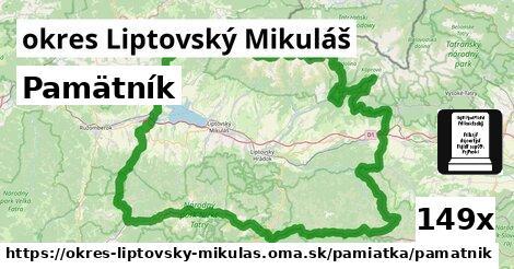ilustračný obrázok k Pamätník, okres Liptovský Mikuláš