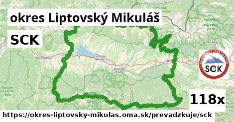 ilustračný obrázok k SCK, okres Liptovský Mikuláš