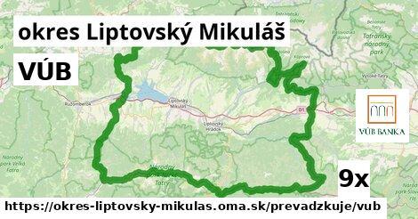 ilustračný obrázok k VÚB, okres Liptovský Mikuláš