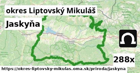 jaskyňa v okres Liptovský Mikuláš