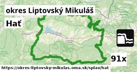 ilustračný obrázok k Hať, okres Liptovský Mikuláš