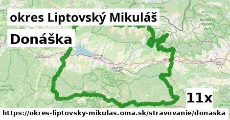 ilustračný obrázok k Donáška, okres Liptovský Mikuláš
