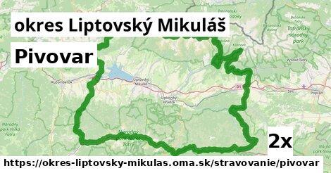 ilustračný obrázok k Pivovar, okres Liptovský Mikuláš