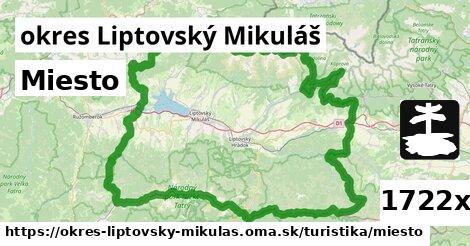 ilustračný obrázok k Miesto, okres Liptovský Mikuláš