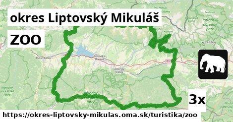 ilustračný obrázok k ZOO, okres Liptovský Mikuláš