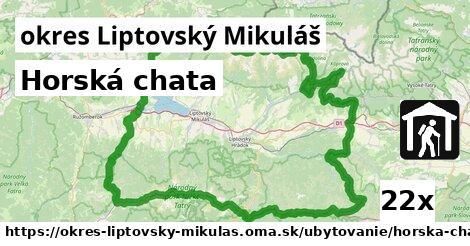ilustračný obrázok k Horská chata, okres Liptovský Mikuláš