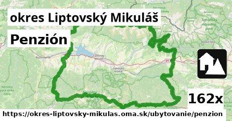 penzión v okres Liptovský Mikuláš