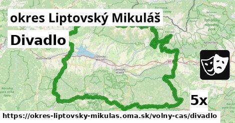 ilustračný obrázok k Divadlo, okres Liptovský Mikuláš