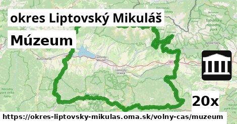 múzeum v okres Liptovský Mikuláš