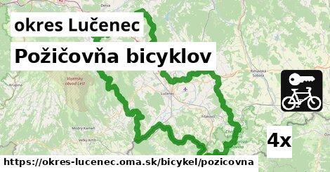 požičovňa bicyklov v okres Lučenec
