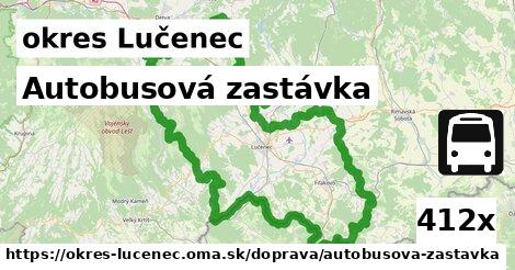 ilustračný obrázok k Autobusová zastávka, okres Lučenec