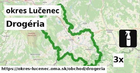 ilustračný obrázok k Drogéria, okres Lučenec
