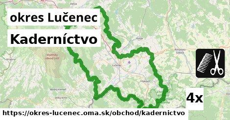 ilustračný obrázok k Kaderníctvo, okres Lučenec