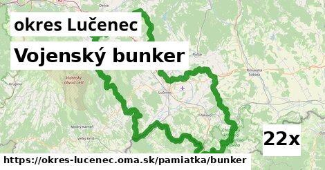 vojenský bunker v okres Lučenec