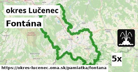 ilustračný obrázok k Fontána, okres Lučenec