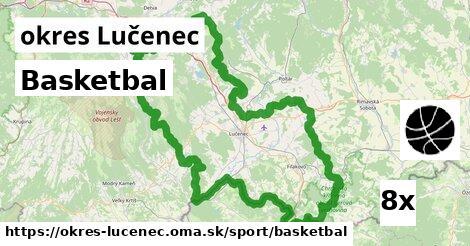 ilustračný obrázok k Basketbal, okres Lučenec