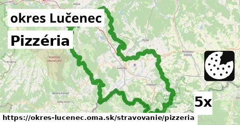 ilustračný obrázok k Pizzéria, okres Lučenec