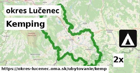 ilustračný obrázok k Kemping, okres Lučenec
