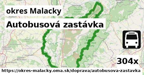 ilustračný obrázok k Autobusová zastávka, okres Malacky