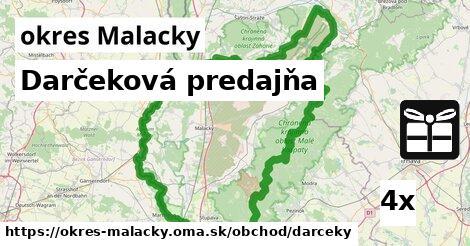 ilustračný obrázok k Darčeková predajňa, okres Malacky