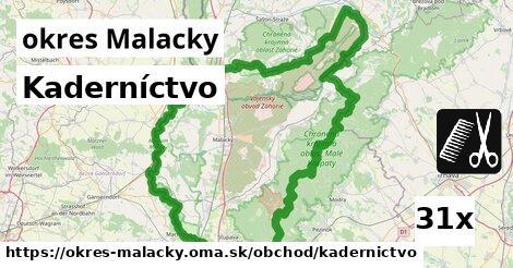 ilustračný obrázok k Kaderníctvo, okres Malacky