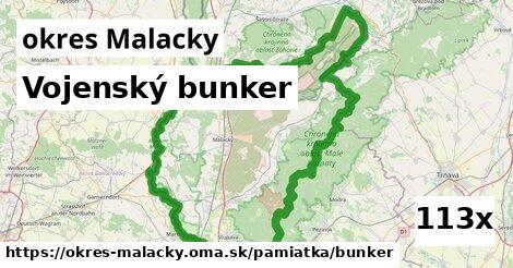 vojenský bunker v okres Malacky