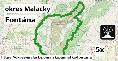 ilustračný obrázok k Fontána, okres Malacky