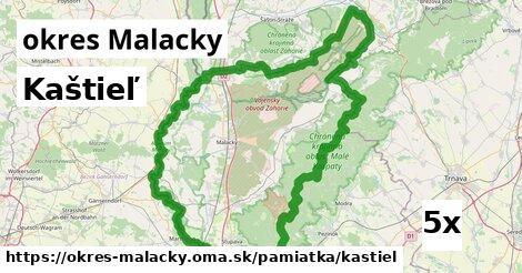 kaštieľ v okres Malacky